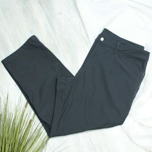 Lululemon Athletica Gray Silky Capris/Pants XXXL